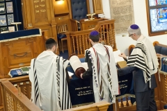 Barmitzvah Photography London, Rehearsal at Stanmore Synagogue photos