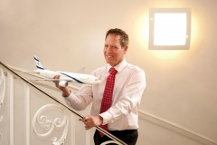 Uri-Danor-CEO-El-Al-Airlines-Editorial-Portrait-Photography-EP-Hospitality-Magazine