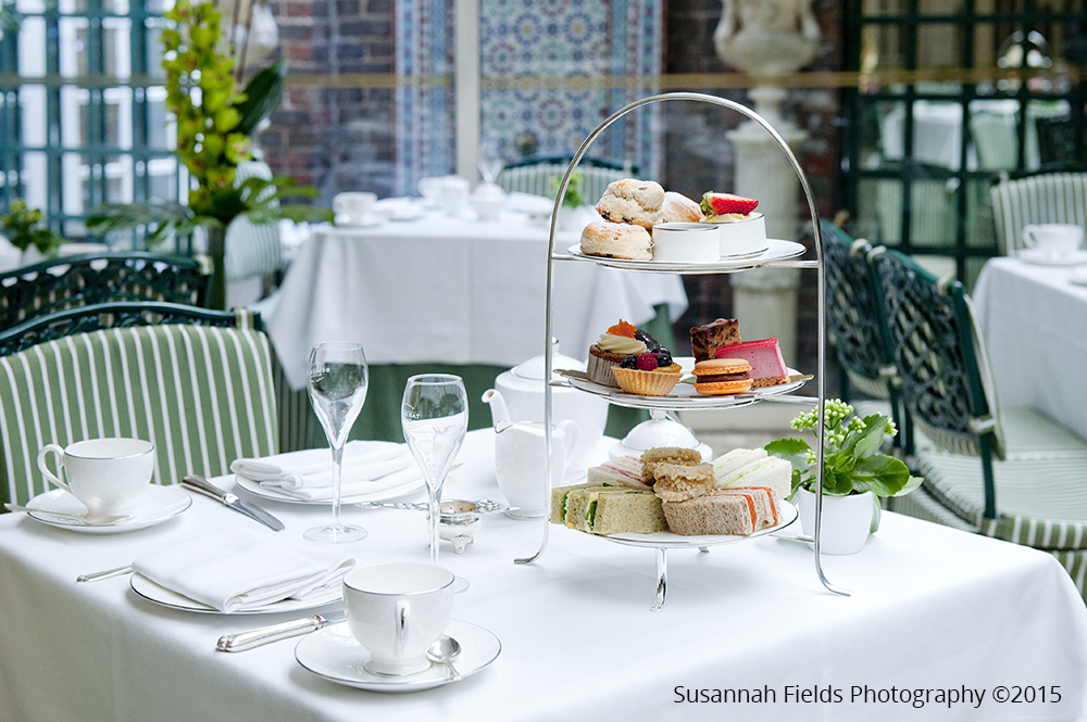 Afternoon Tea Photography For The Chesterfield Hotel