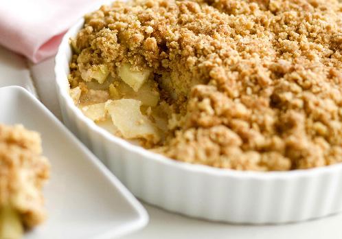 Apple Crumble Food Photo