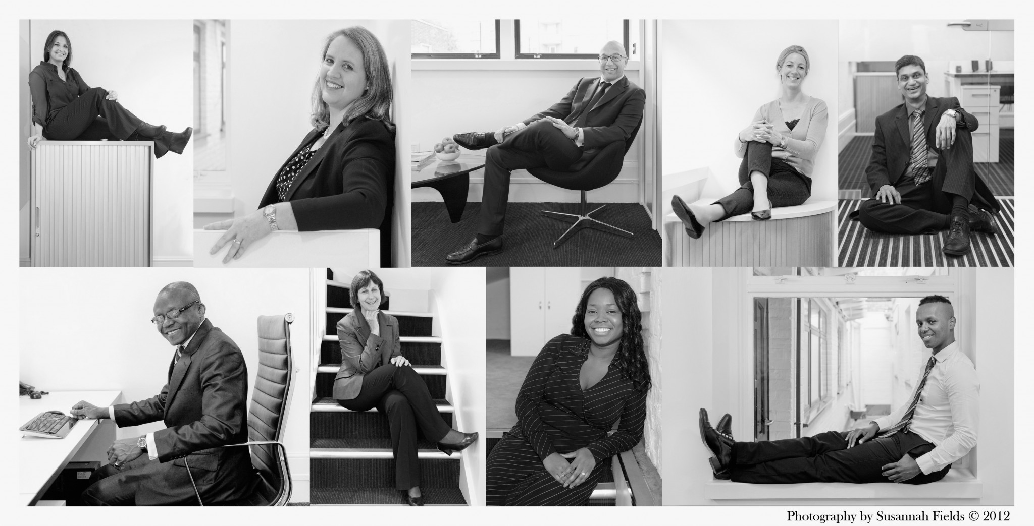 Portraits of Staff and headshot photography at Casna Group PLC