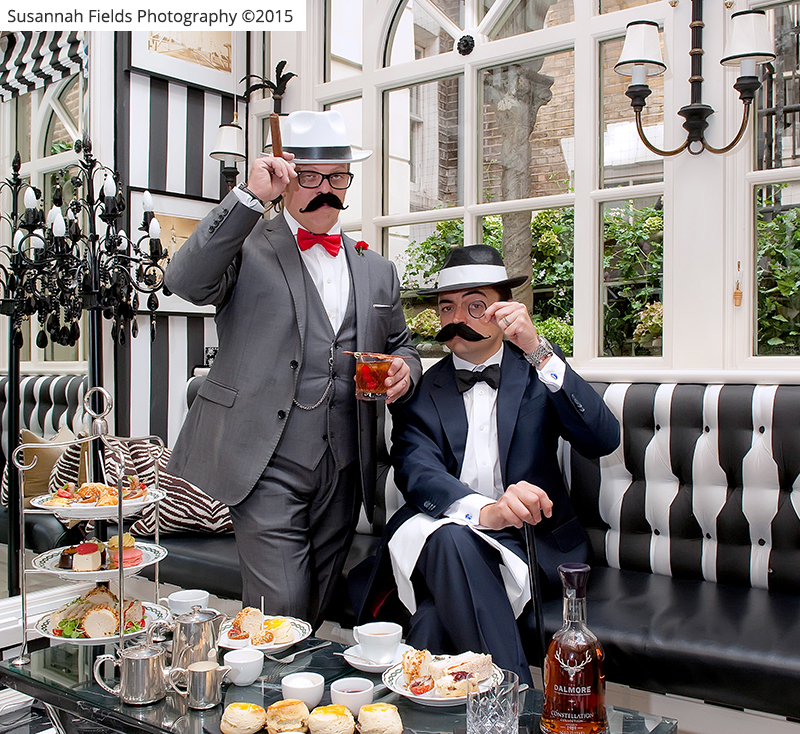 The Gentleman's Afternoon Tea at The Milestone Hotel