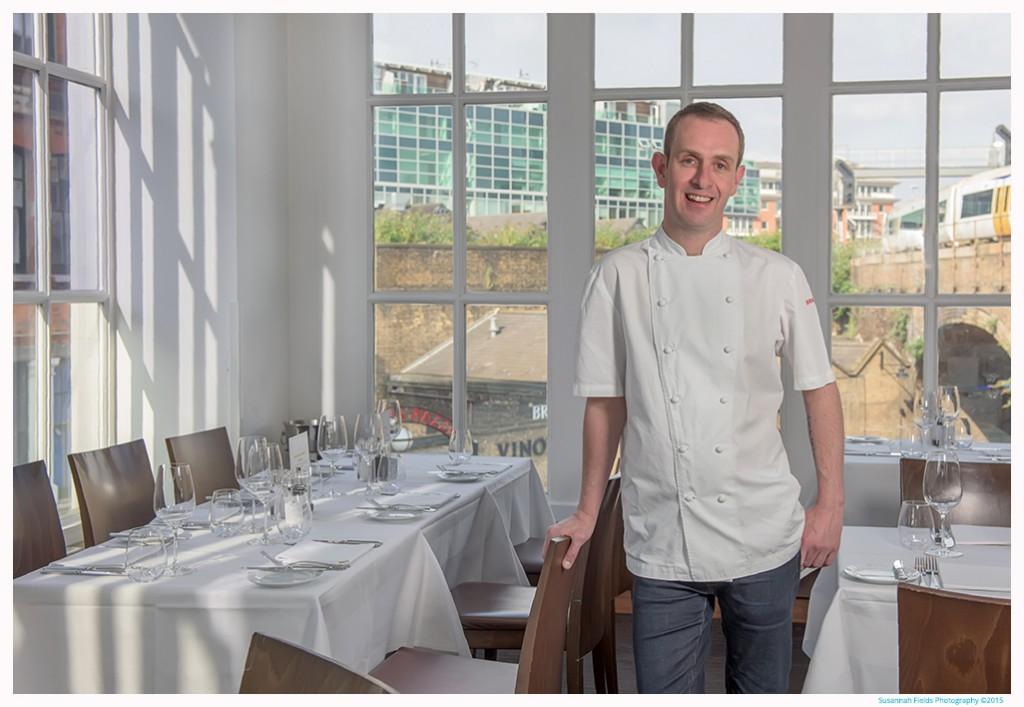 Photos of Stuart Cauldwell, Head Chef at Roast Restaurant