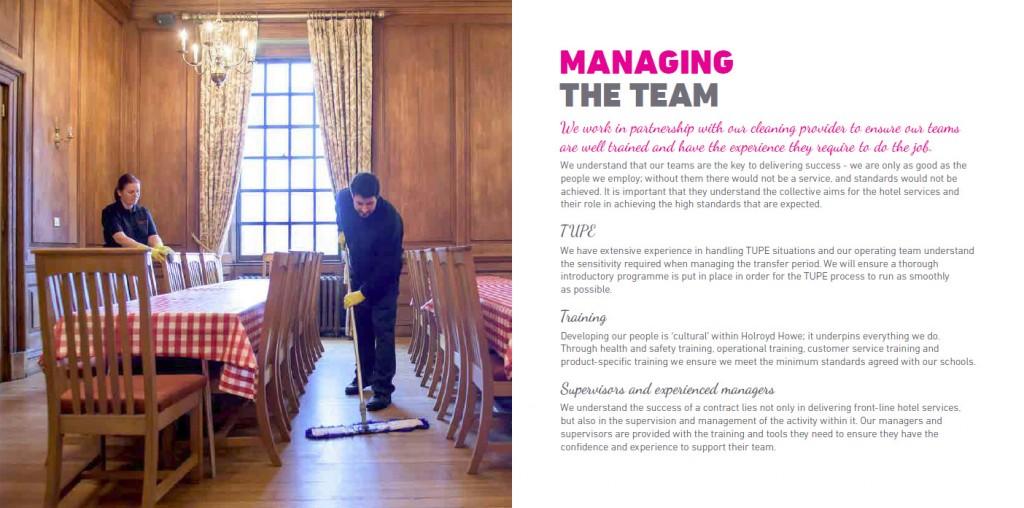 Holroyd Howe Cleaning Brochure Page 7