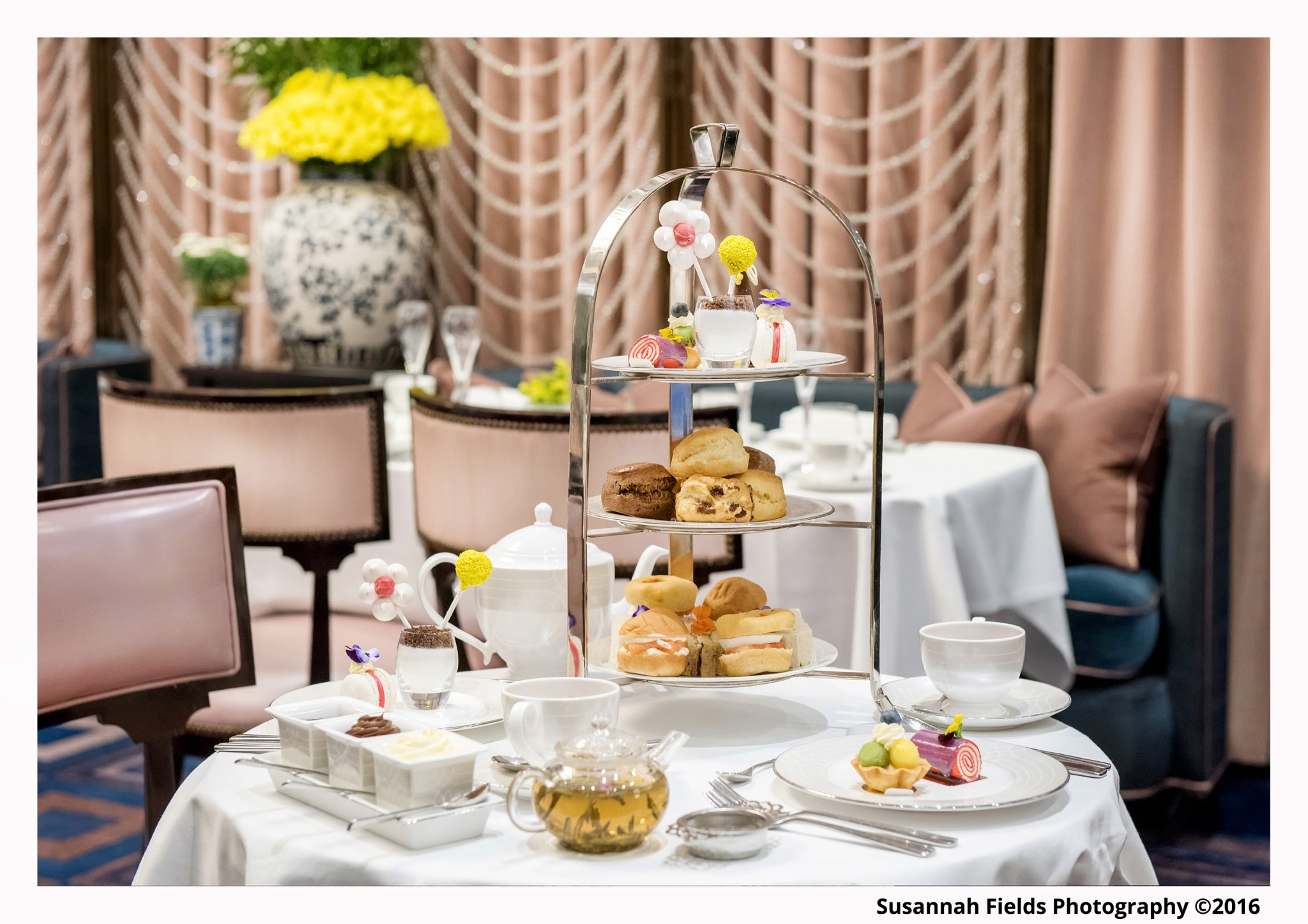 Afternoon Tea Photography for The Wellesley Hotel