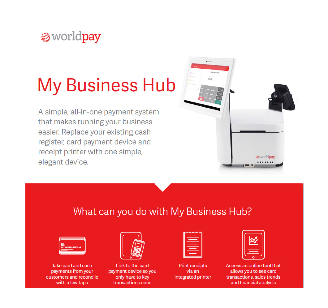 My Business Hub Commercial Photography for Worldpay with Ed Webster