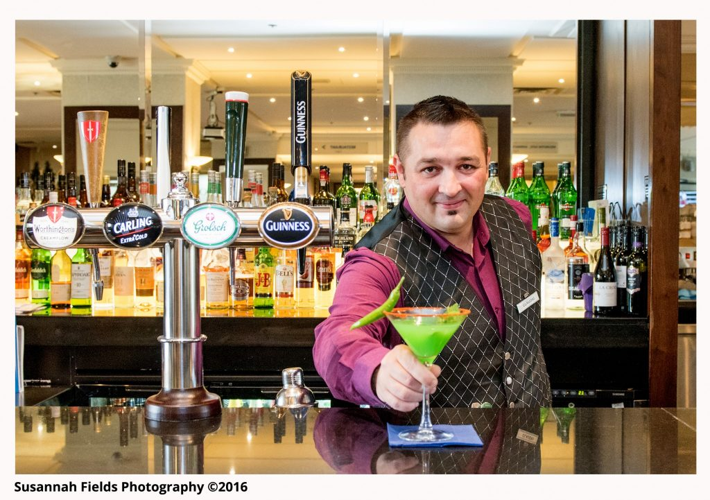 Barman & Cocktail at Danubius Regents Park Hotel