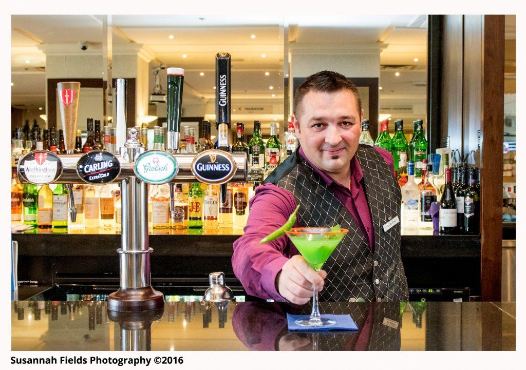 Barman & Cocktail at Danubius Regents Park Hotel
