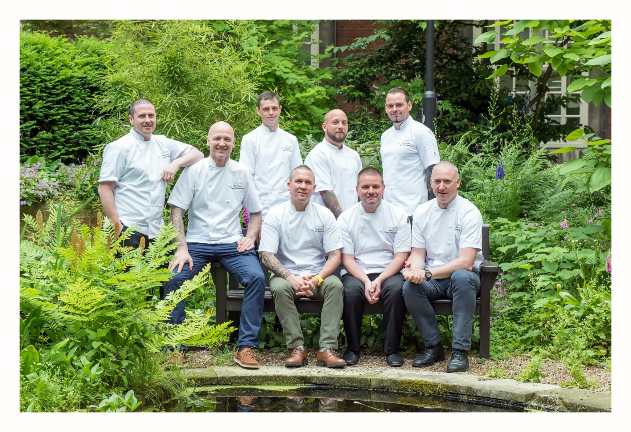 Chef Photography for Contract Catering Company Baxterstorey