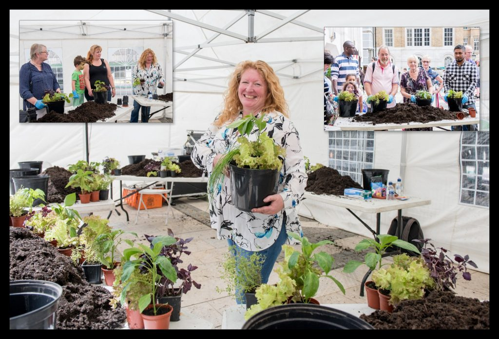 Portrait of Charlie Dimmock Shot for The City of London Community Fair - Public Service at Guild Hall Yard