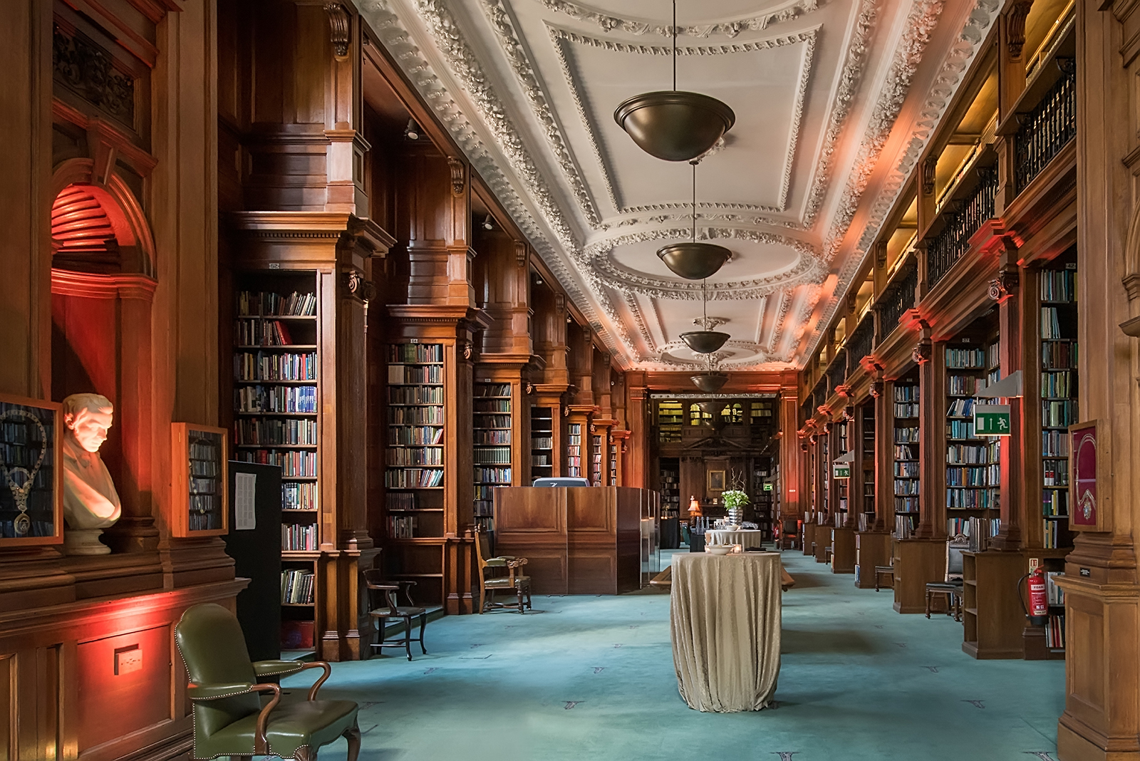 Venue Photography of The Library at the Institution of Civil Engineers