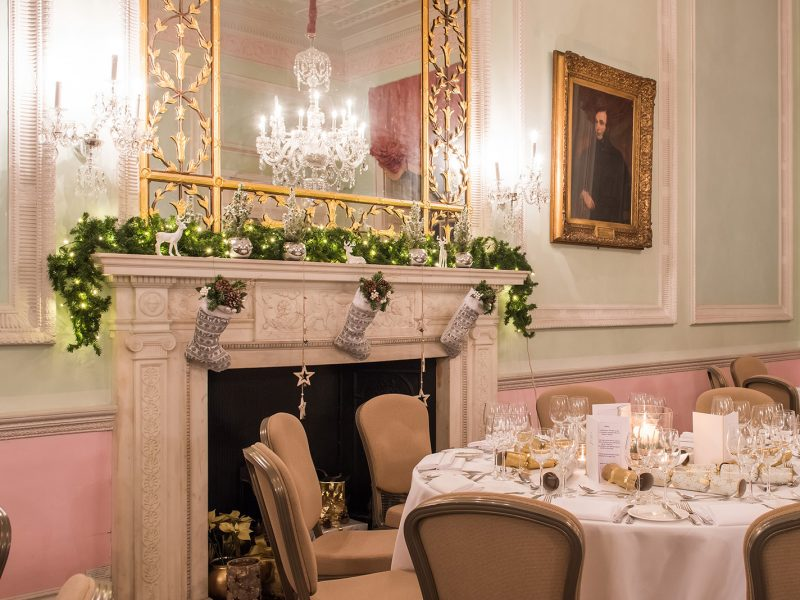 Chandos House at Christmas Venue Photography