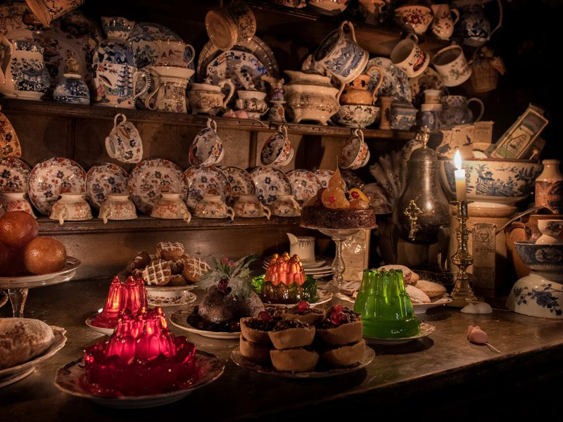 Dennis Severs House at Christmas Interior Photography