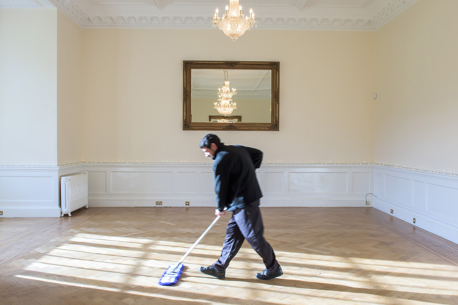 Holroyd Howe Independent Schools Cleaning Brochure Photography