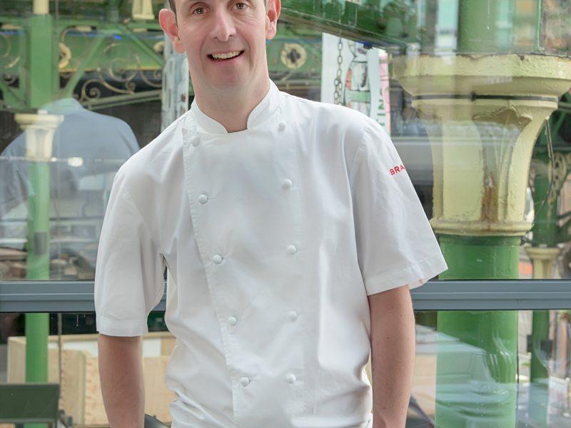 Portrait of Stuart Cauldwell Head Chef at Roast Restaurant Borough Market