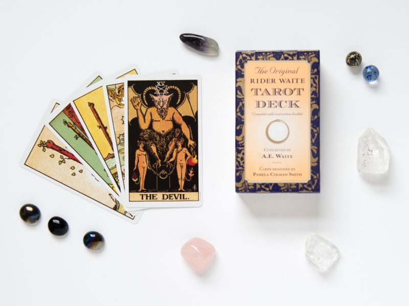 Tarot Cards Photographed for Random House for Amazon and Instagram