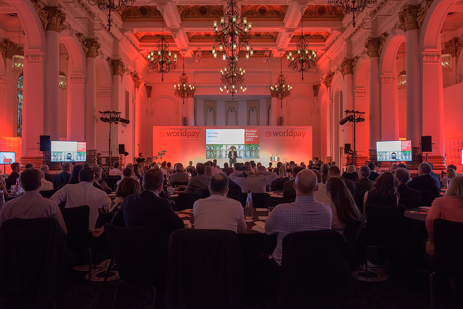Worldpay Annual Conference at Northumberland Hotel – 2015