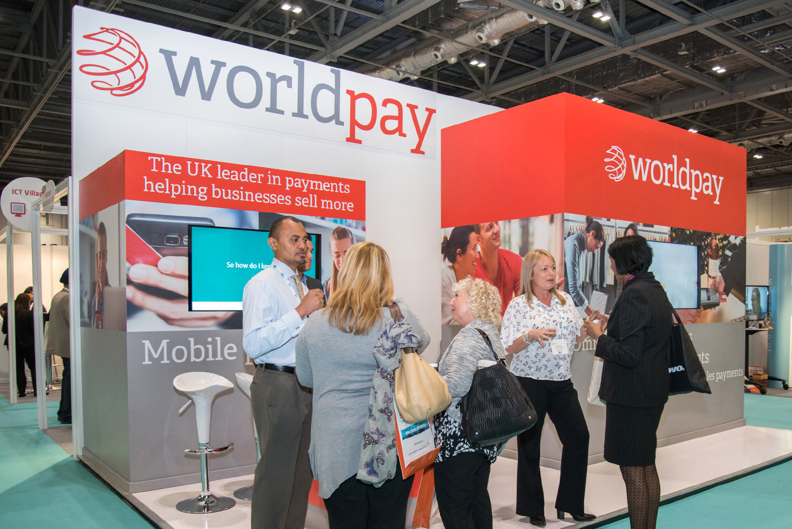 Worldpay UK Trade Stands