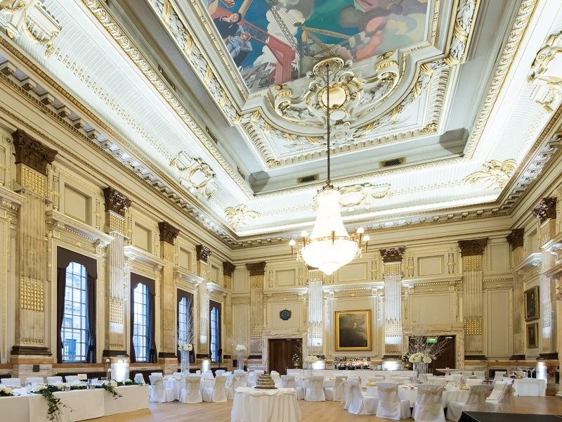 Institution of Civil Engineers Christmas and Wedding Venue Photography