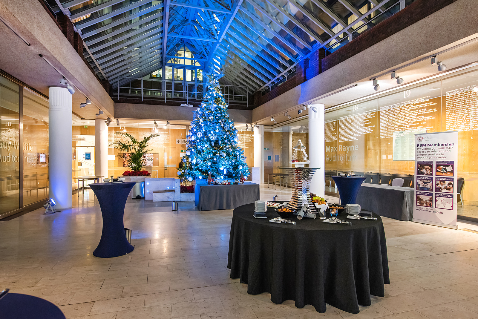 1 Wimpole Street and Chandos House Venue and Christmas Photography