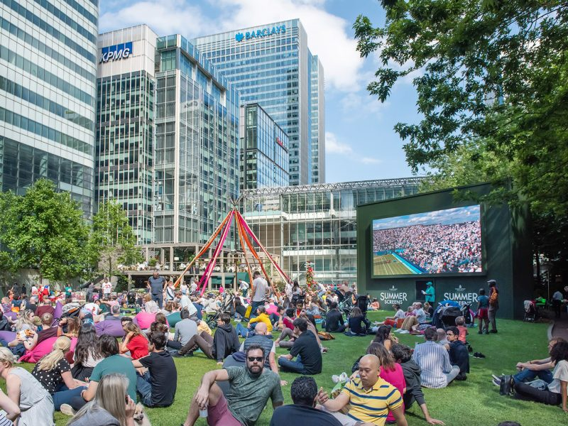 Mid-Summer Festival at Canary Wharf
