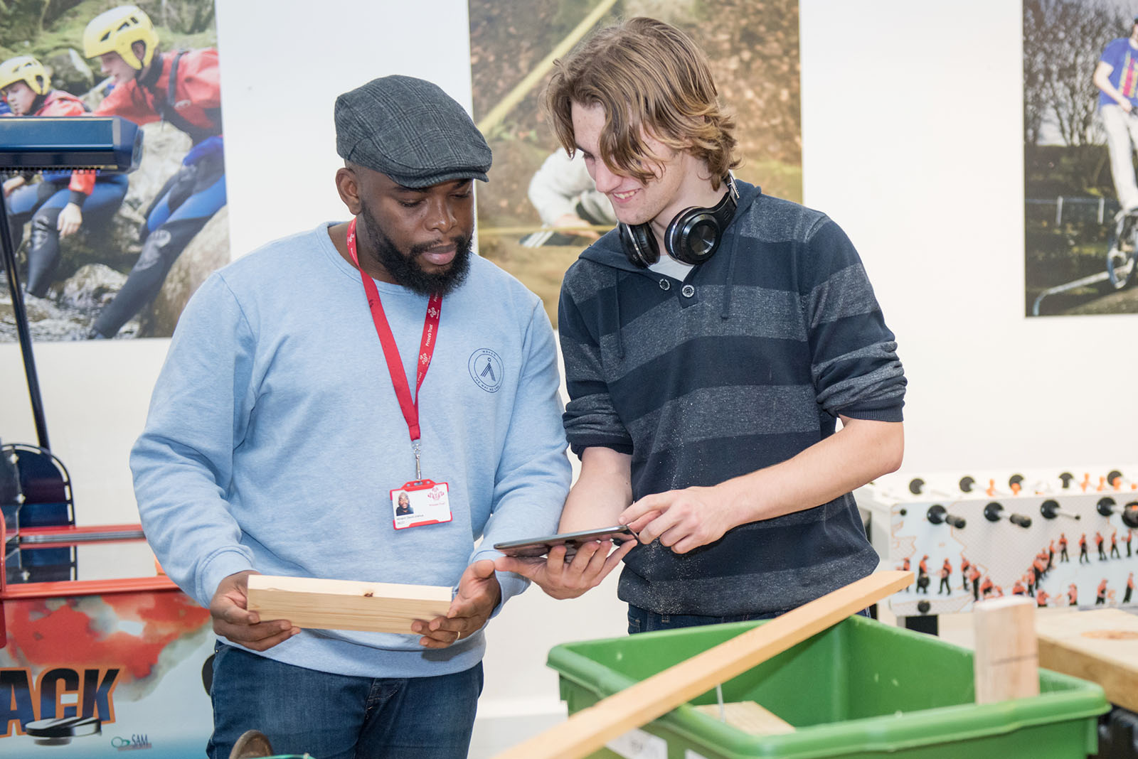 The Prince's Trust Charity Photography of Stem Sessions